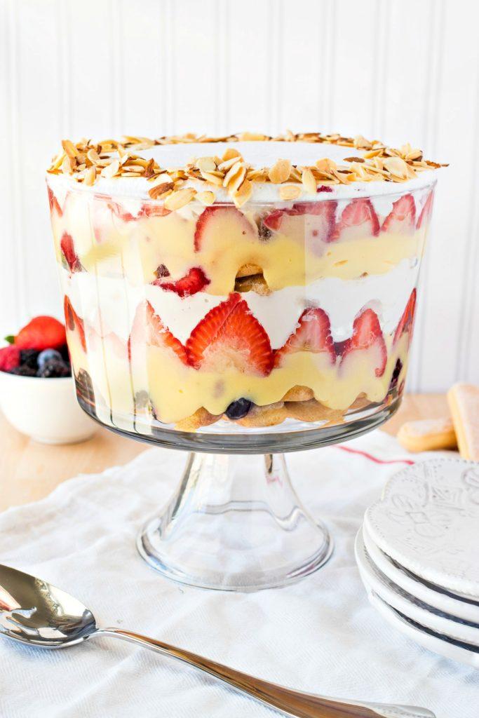 Traditional English Trifle - CPA: Certified Pastry Aficionado